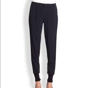 Vince Crepe Silk Pants